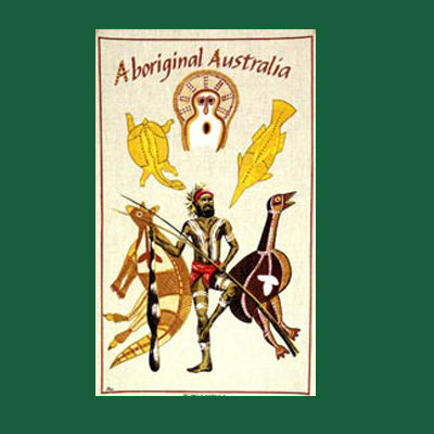 Aboriginal Tea Towel