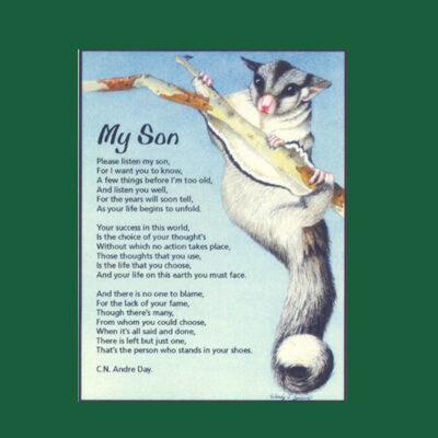 Life in Verse Magnet - My Son