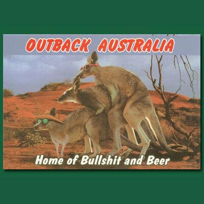 Home of Bullshit Postcard - BC2