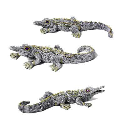 15cm Crystal Crocodile Cry