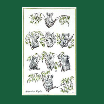 Koala Tea Towel- C723