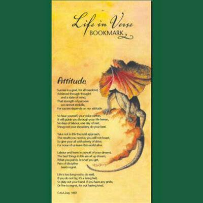 Life in Verse Bookmarks - Attitude