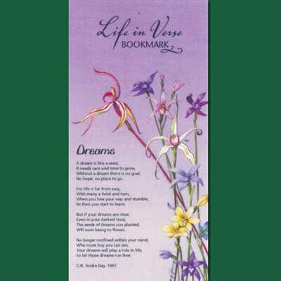 Life in Verse Bookmarks - Dreams