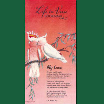 Life in Verse Bookmarks - My Love