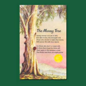 Life in Verse Greeting Card - The Money Tree
