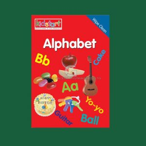 Alphabet Wipe Clean Book MBKALP