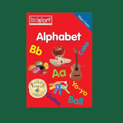 Alphabet Wipe Clean Book MBKALP