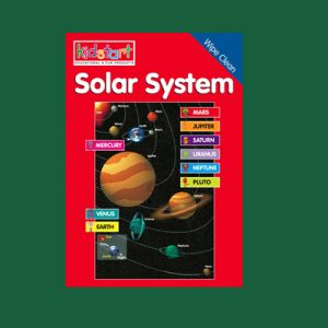Solar System Wipe Clean Book