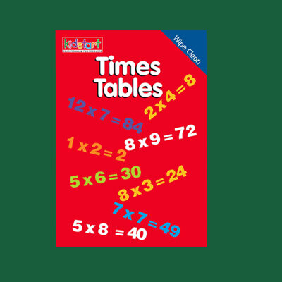 Times Tables Wipe Clean Book