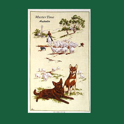 Muster Time Tea Towel