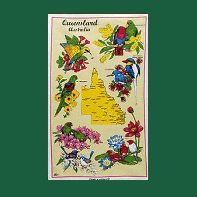 Queensland Tea Towel