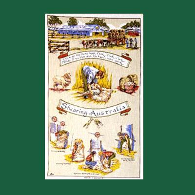 Shearers Tea Towel