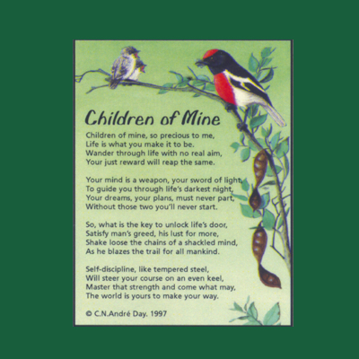 Life in Verse Magnet - Children of Mine