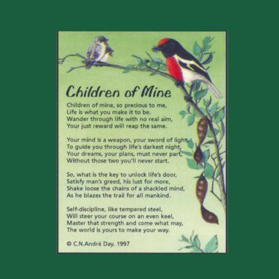 Life in Verse Magnet - Children of Mine
