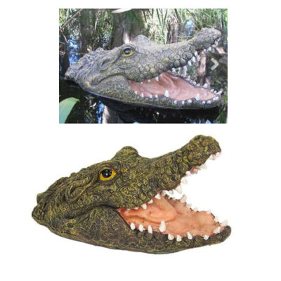 28cm Floating Crocodile with Open Mouth