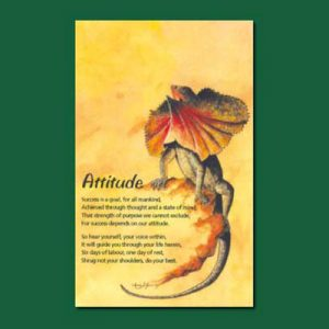 Greeting Card - Attitude