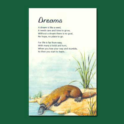 Life in Verse Greeting Card - Dreams
