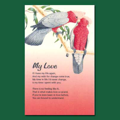 Life in Verse Greeting Card - My Love