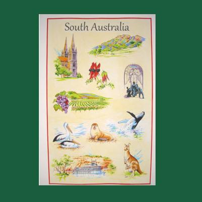 South Australia Tea Towel