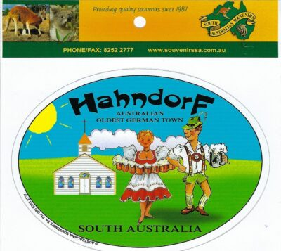 Hahndorf Stickers