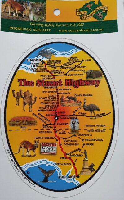 Sticker- Stuart Highway