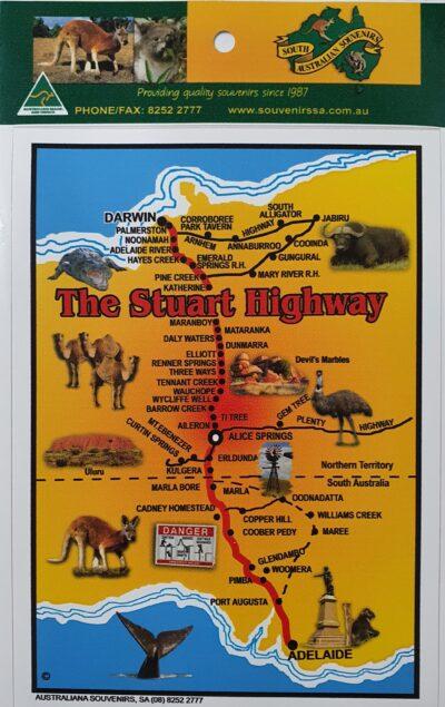 Sticker - Stuart Highway