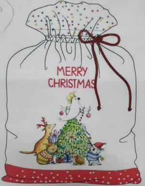 Christmas Santa Sack